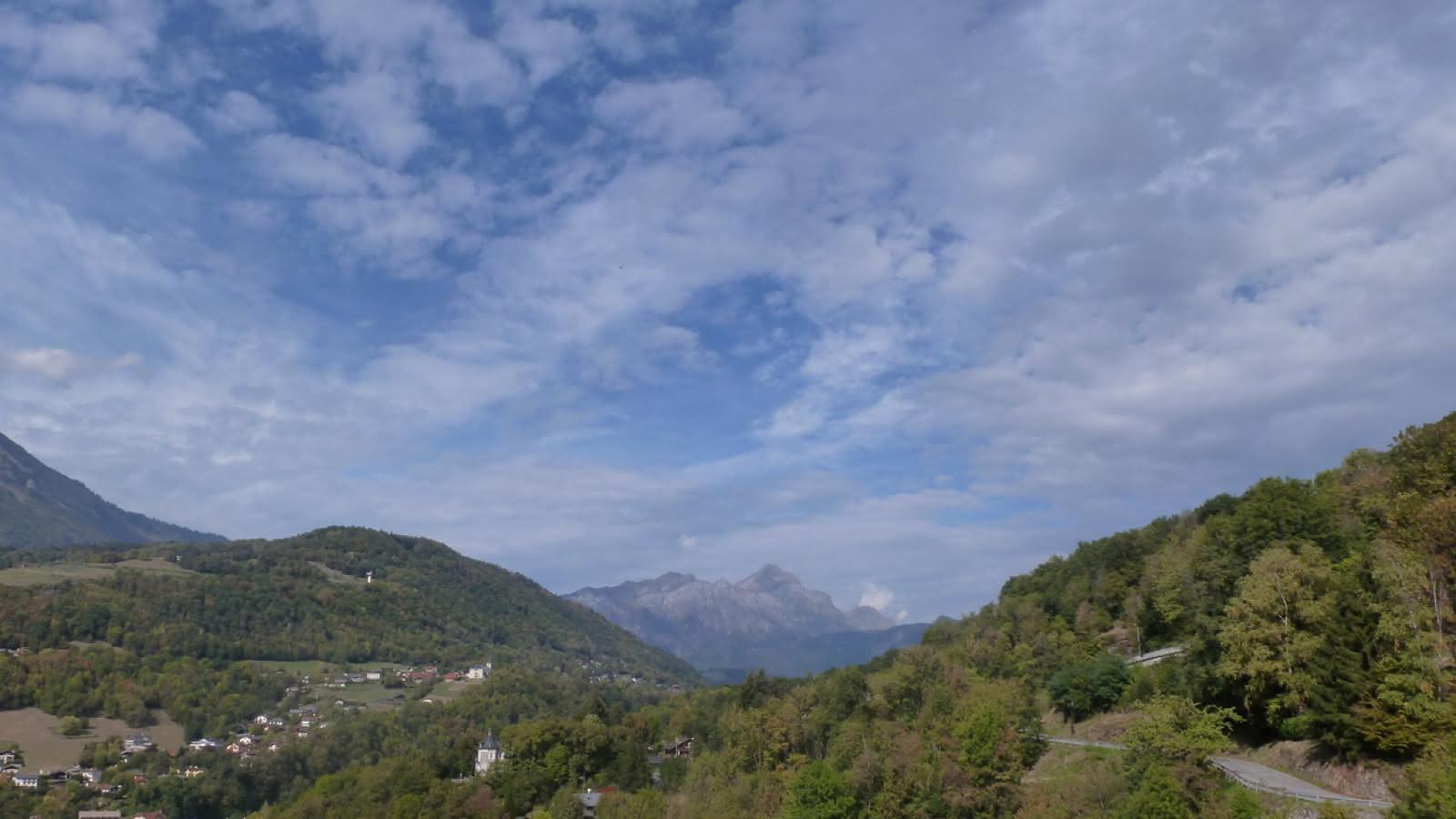 Vue montagne