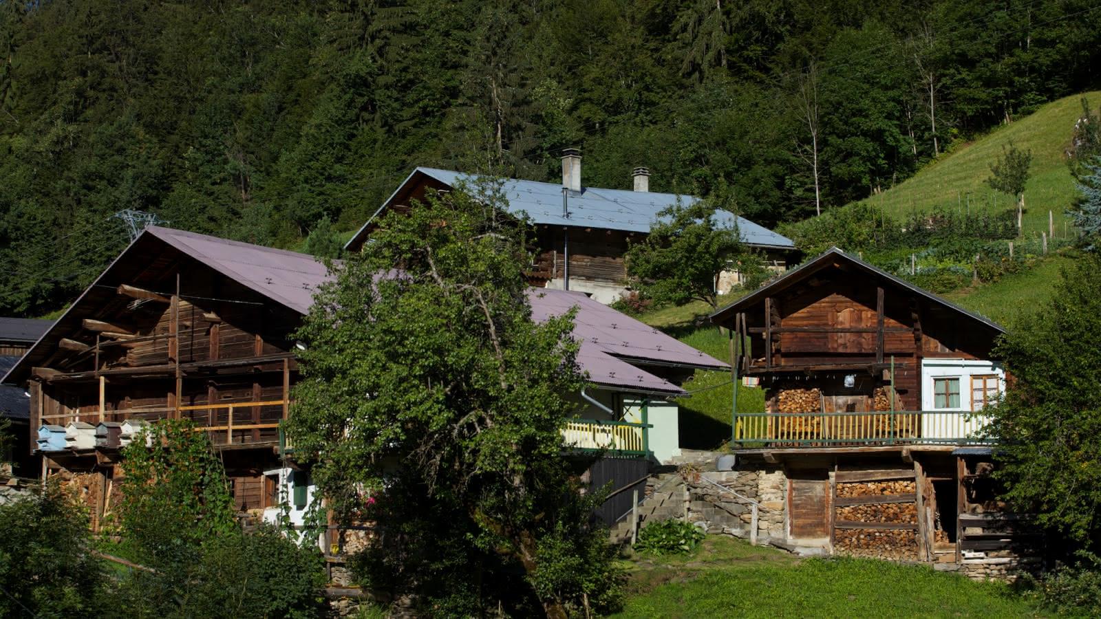 Le hameau des Côtes sur la commune de Hauteluce