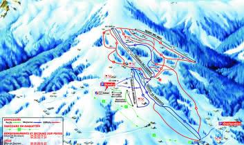 Plan Domaine Skiable cordon