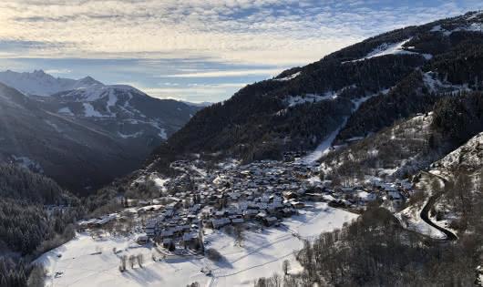 Vue panoramique sur le village
