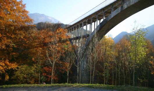 vue depuis la rivière Saint-Ruph