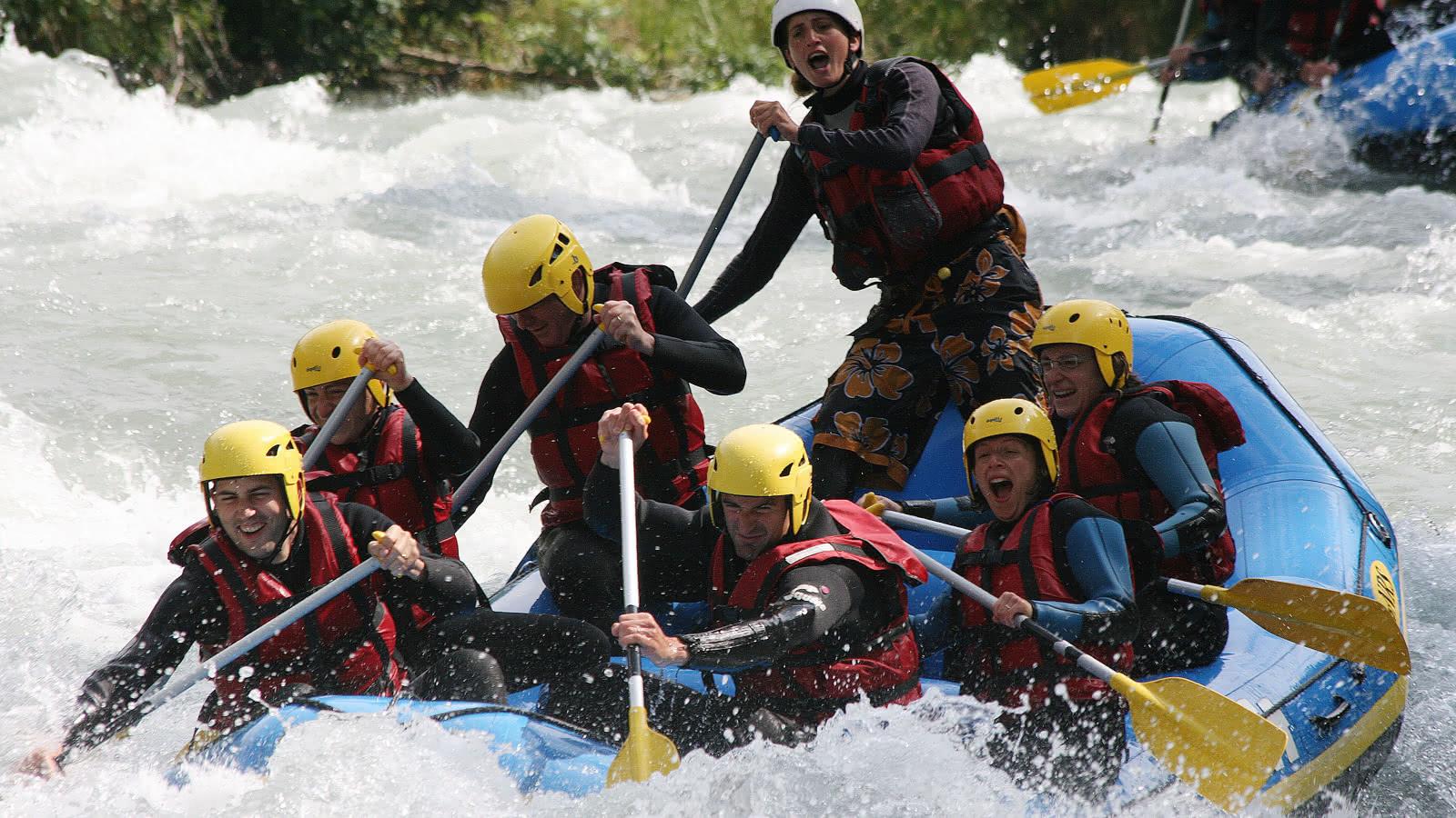 rafting sur l'Isère