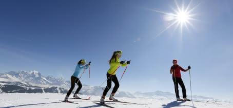 ski de fond à Arêches-Beaufort