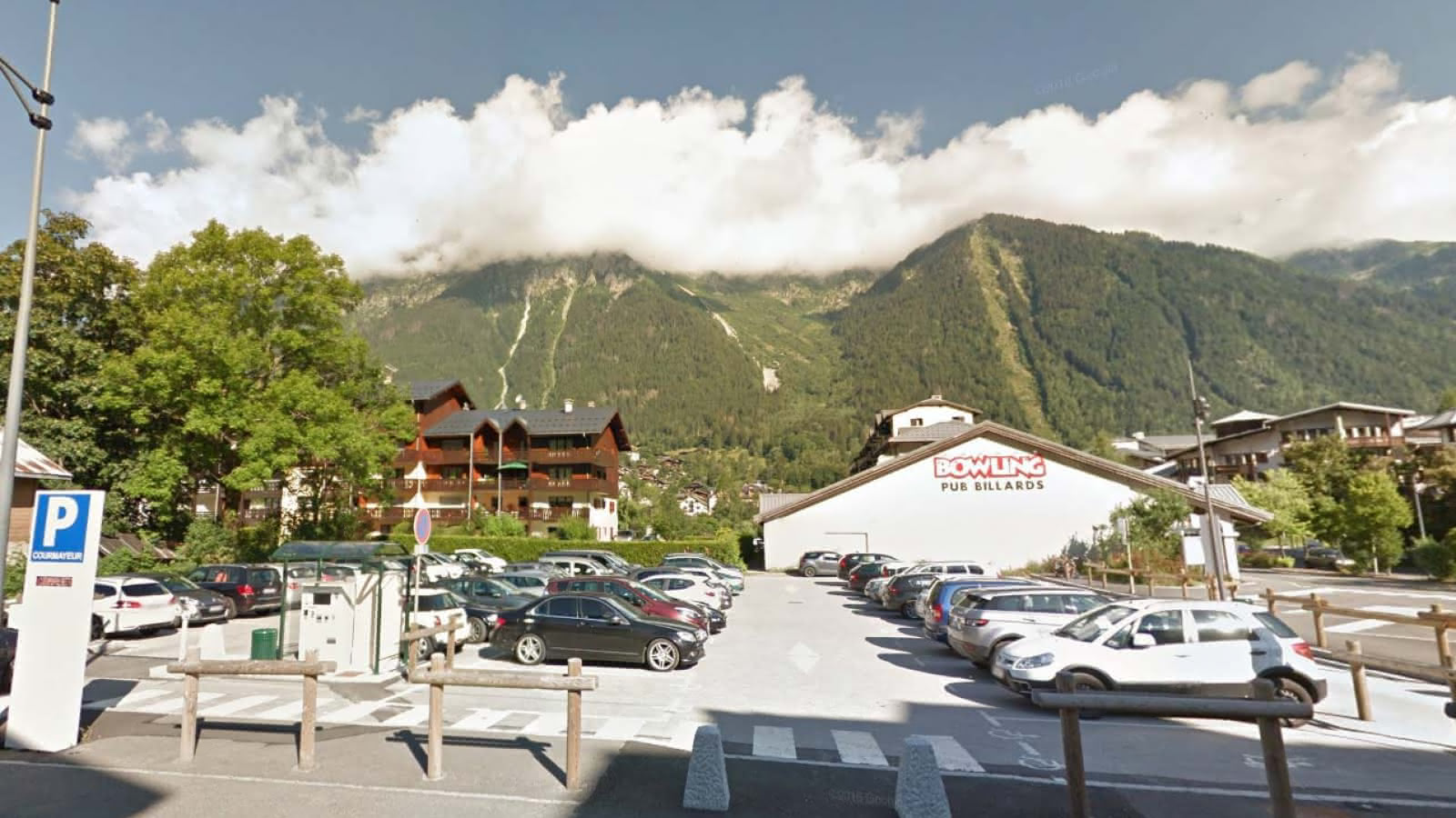 parking courmayeur chamonix
