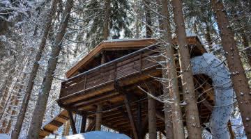 Cabanes entre Terre et Ciel - Cabane du Ruisseau pour les familles