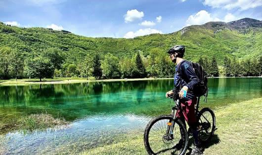 VAE au Plan d'eau de Marlens Val de Chaise
