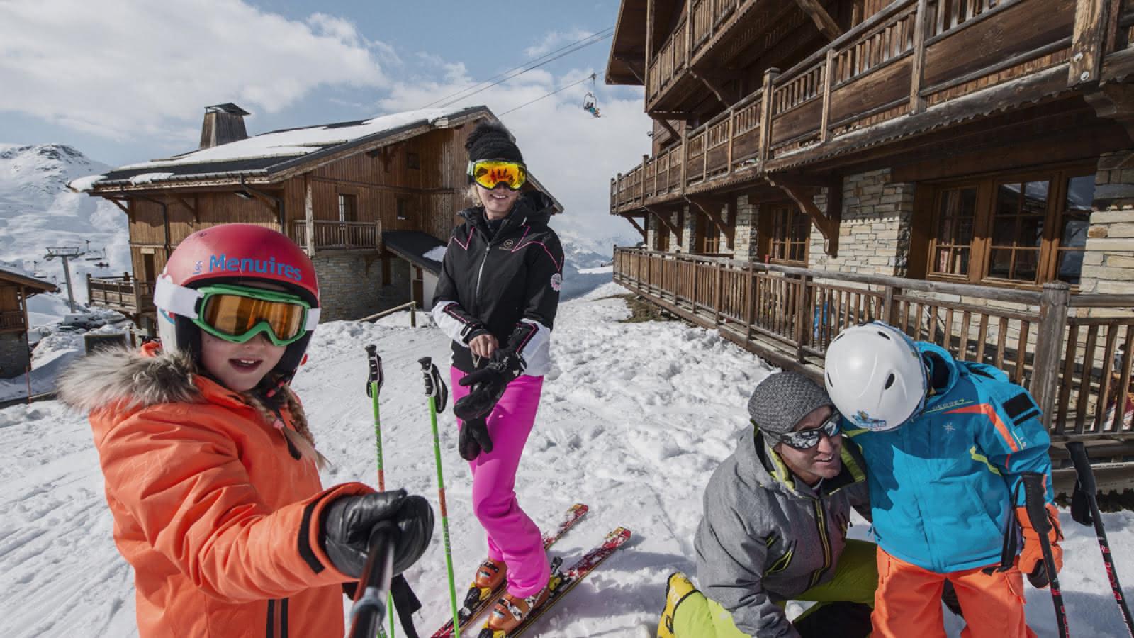 Départ à ski