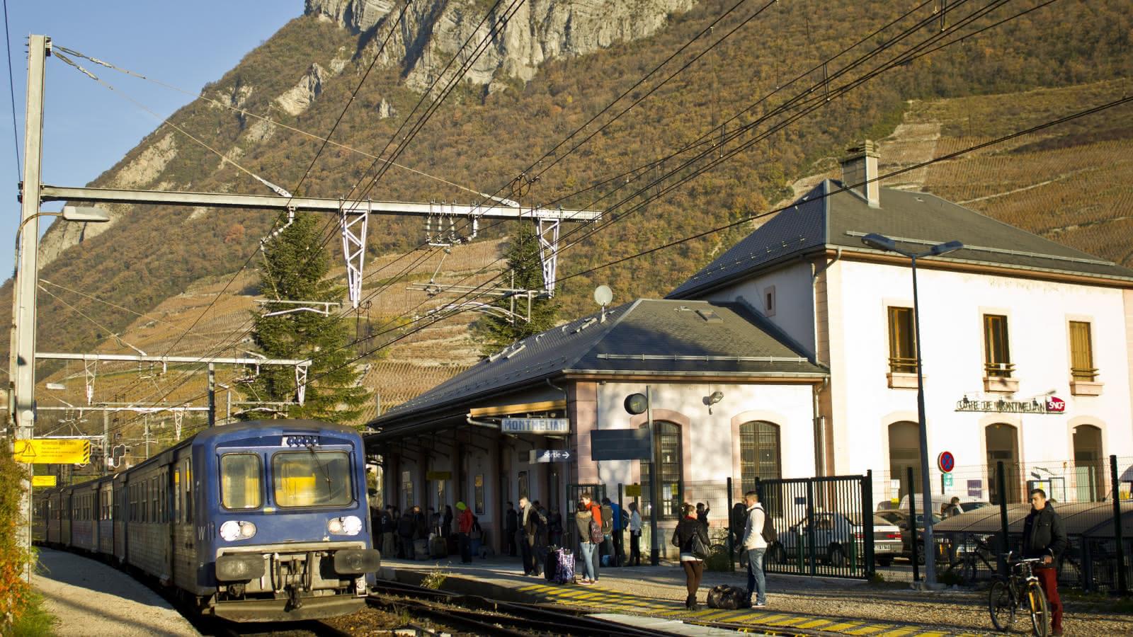 Gare de Montmélian
