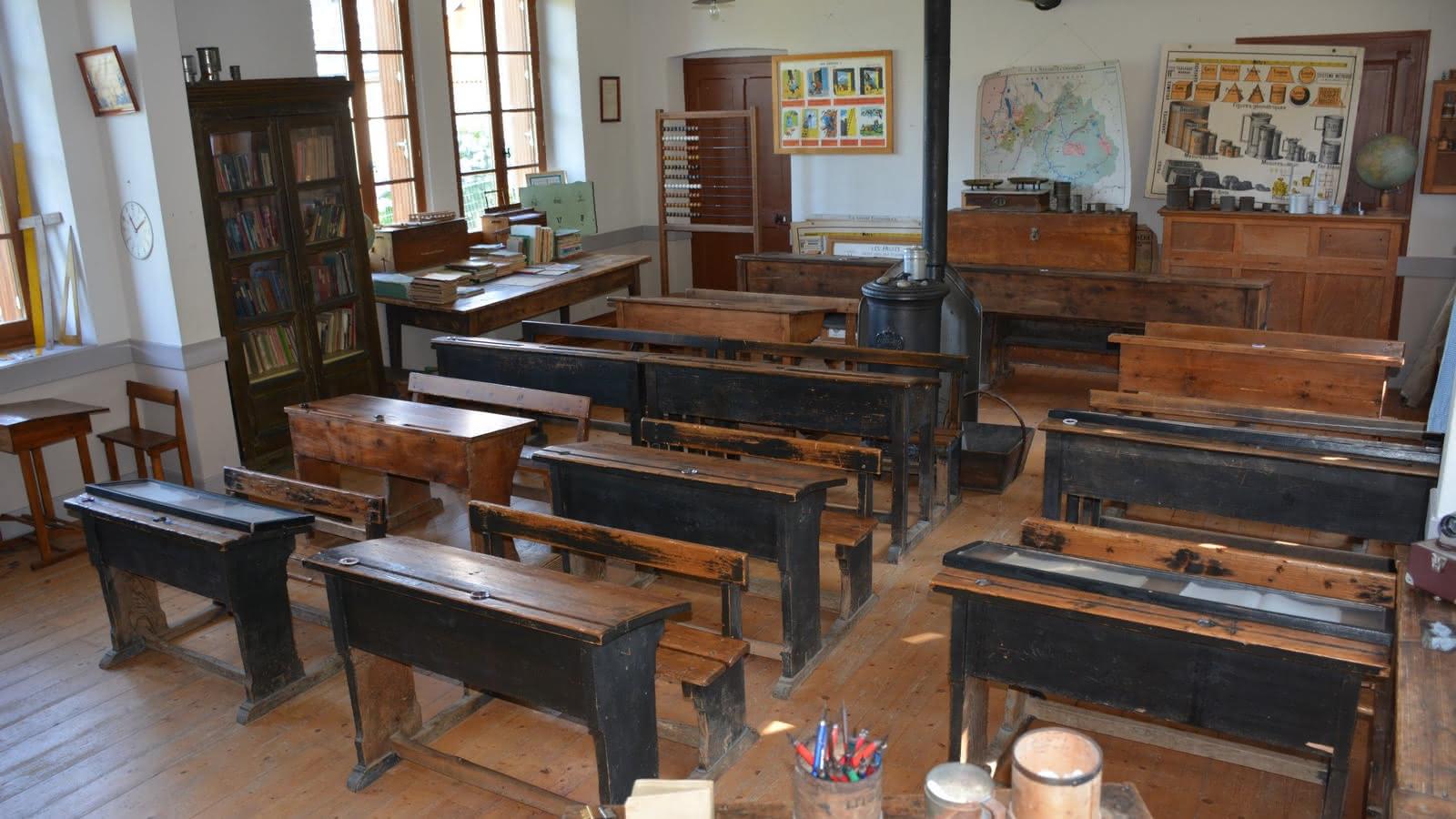 L'ancienne école de la Minière