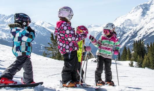 Un aménagment spécialment, destiné pour les skieurs en herbe mais aussi pour les plus grands.