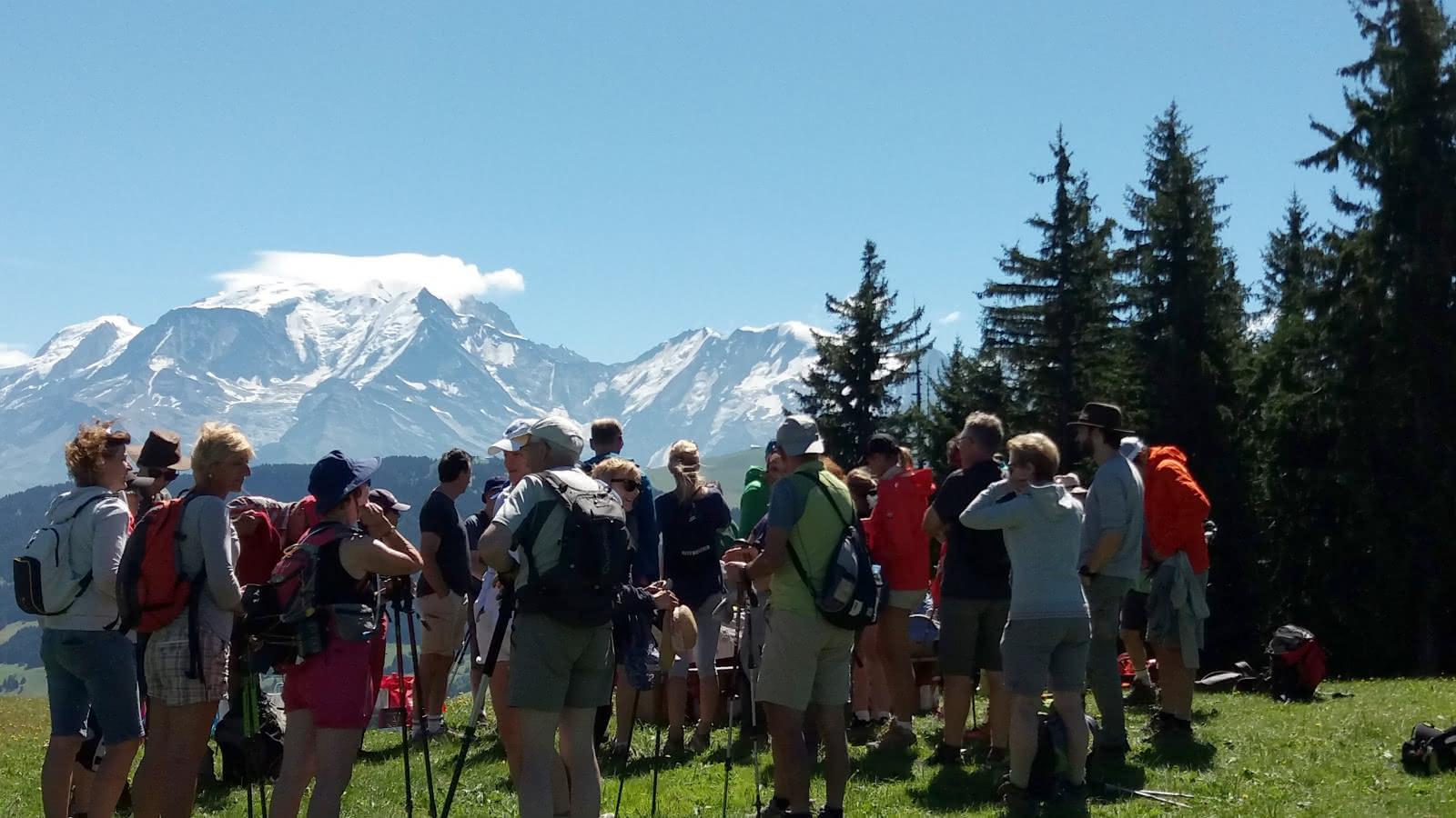 Randonnée visite alpage