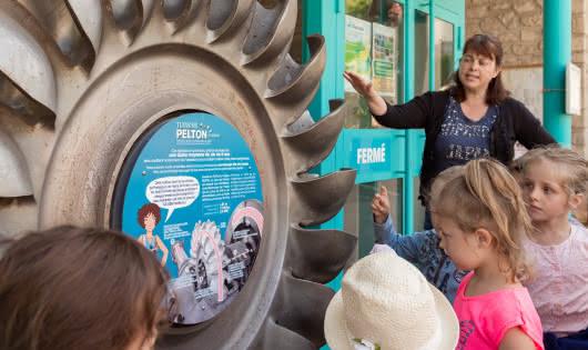 Visite guidée ' La force de l'eau, le  travail des hommes' - Galerie Hydraulica