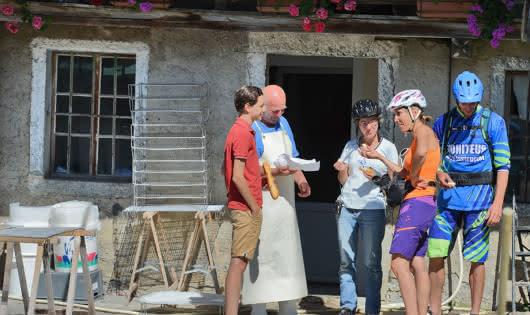 Rando VTTAE FAMILLE avec apéro à la ferme