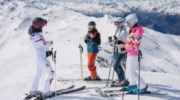 Groupe d'amis Domaine skiable Orelle Les 3 Vallées