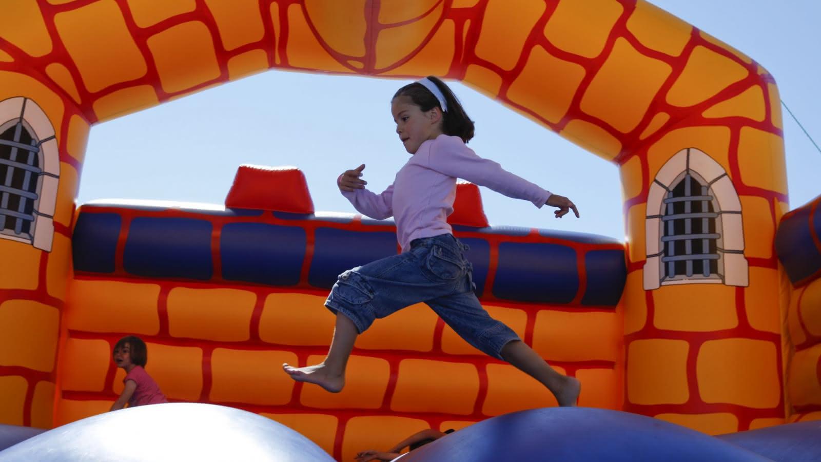 Structures gonflables pour les enfants