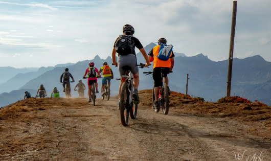 Val d'Arly E-Bike Tour - 19 et 20 septembre 2020 - Crète de Notre Dame de Bellecombe