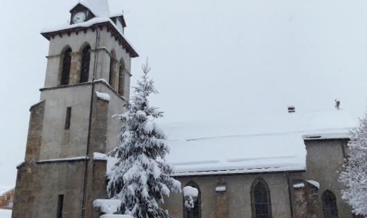 Eglise de CV Hiver