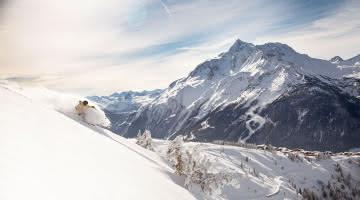 freeride et Mont Pourri