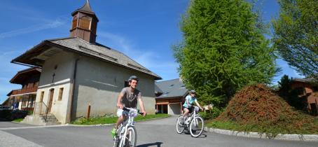 Vélo Electrique de Randonnée à Crest-Voland / Cohennoz