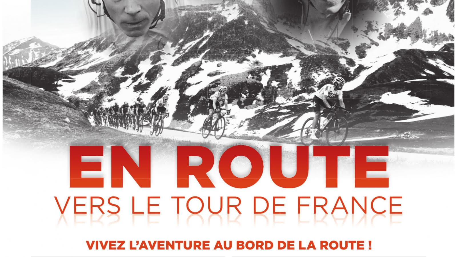 Affiche Critérium du Dauphiné Auvergne Rhône-Alpes