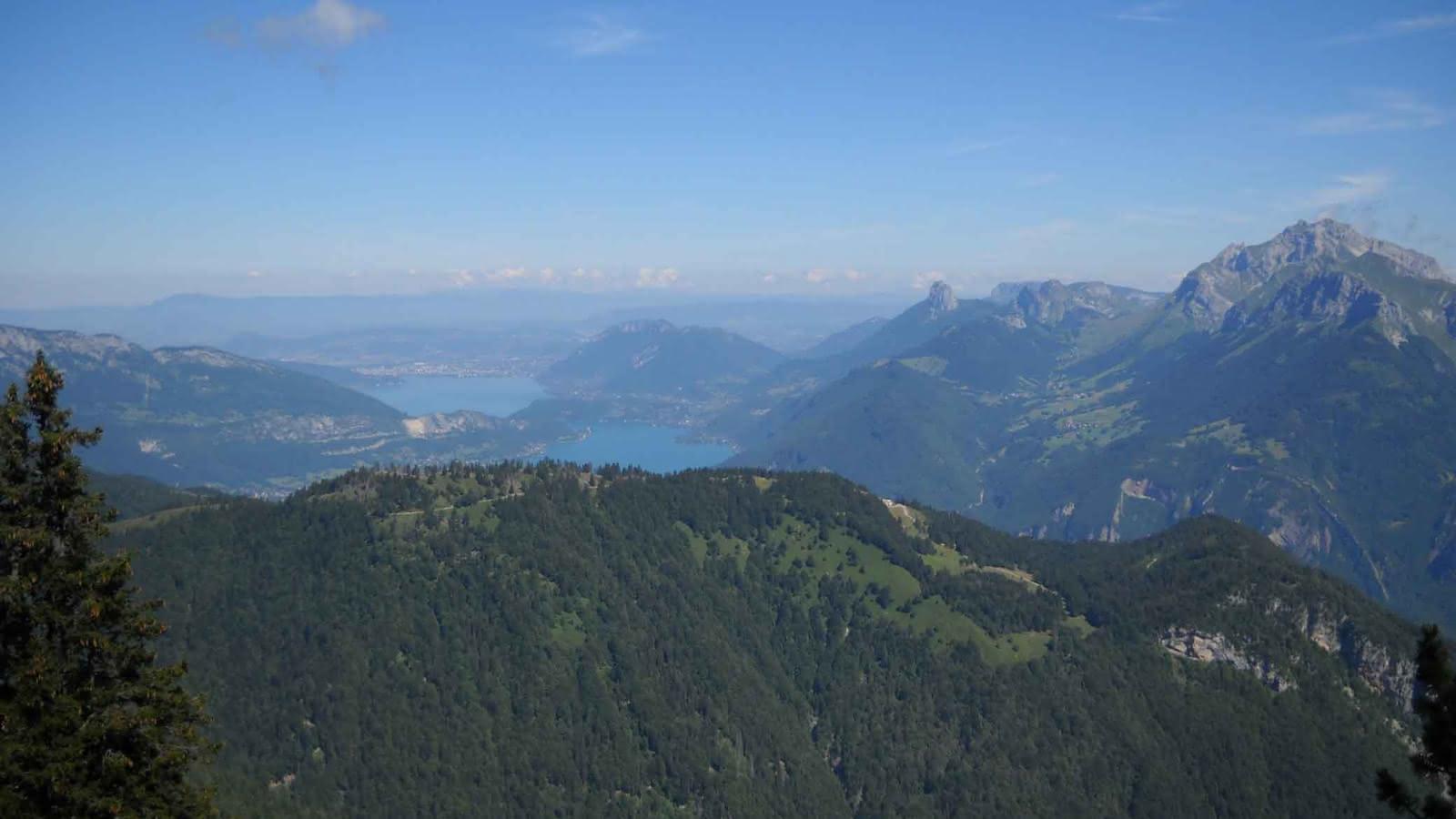 Vue lac Annecy