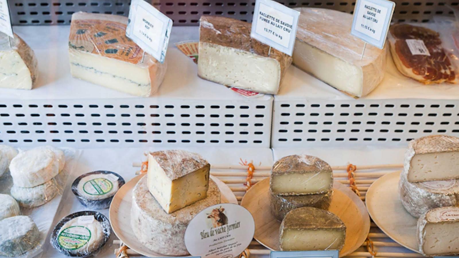 Reblochon, beaufort AOP, tomme de Savoie et autres fromages