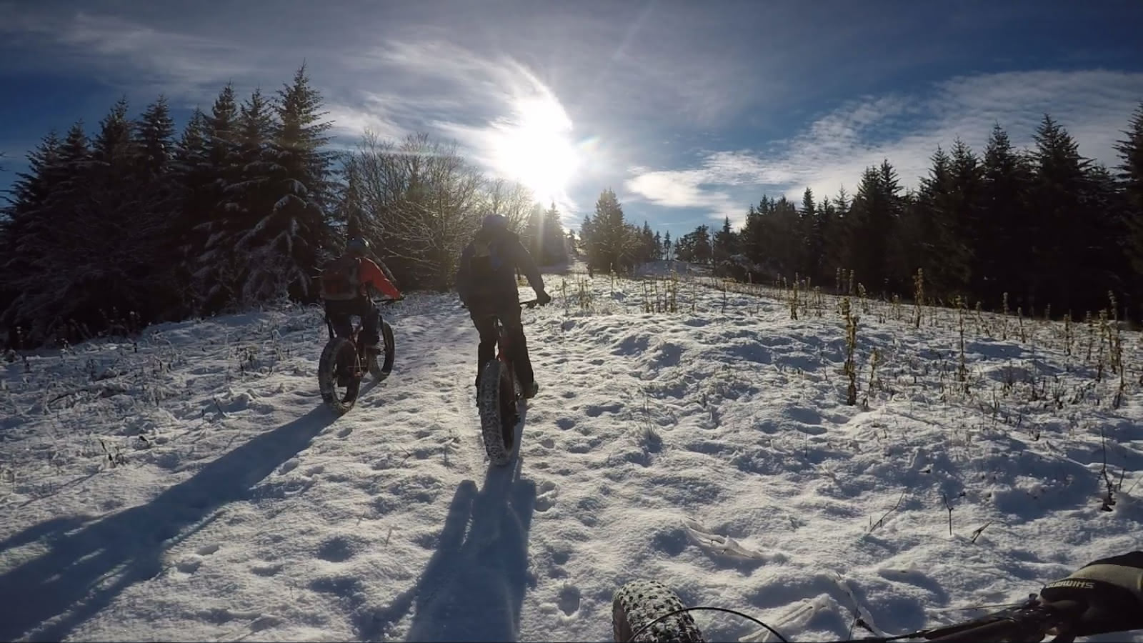 1er neige en Fatbike à assistance électrique dans le Vercors