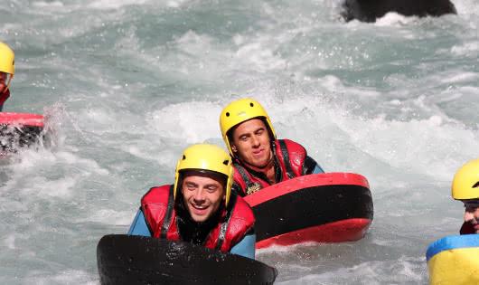 hydrospeed sur l'Isère