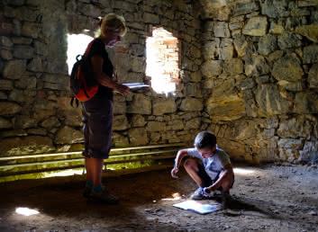 Visite-jeu au fort de Tamié