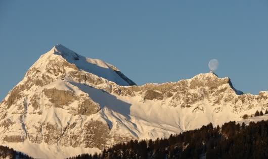 Le Mont Charvin en Hiver