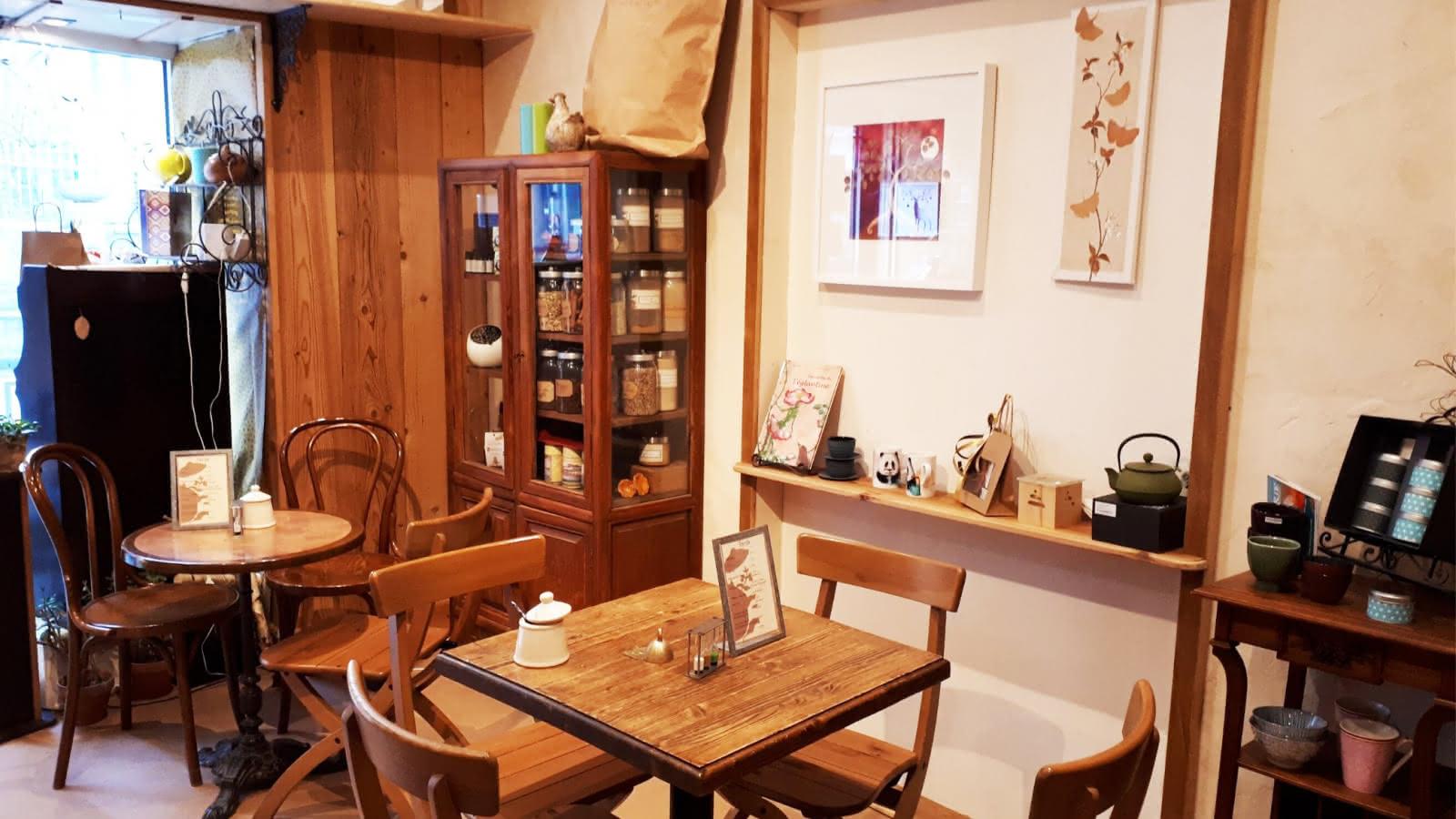 tables salon de thé