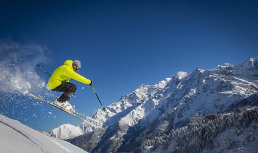 Du grand ski, avec un panorama exceptionnel !