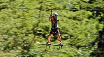 Escaladventure - Parcours du Nant Rouge