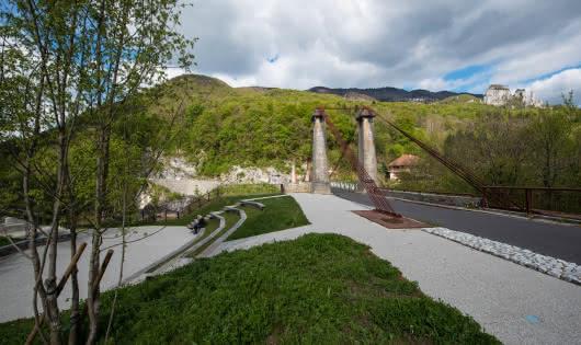 Passage au Pont de l'abime