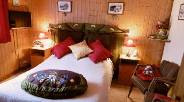 Chambre 'Edelweiss et Pommes de Pin'