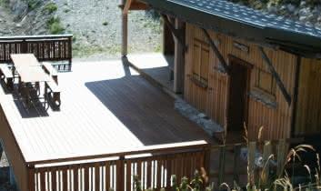refuge terrasse ensoleillée