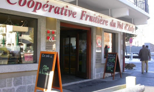 coopérative magasin
