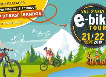 Val d'Arly E-bike Tour - Le Week-end 100% VTT électrique