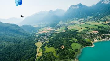 Parapente au Sources du lac d Annecy