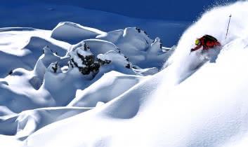 neige de qualité à la Plagne
