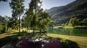 Centron leisure park in the valley of La Plagne