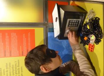 Escape game 'Cambriolage au musée'