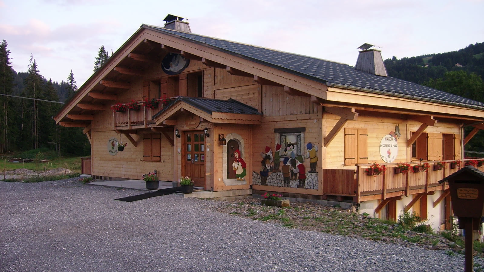 maison des contes de fées