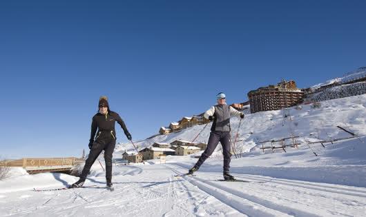 Ski de fond les Menuires/Saint Martin de Belleville