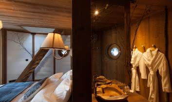 Nuit insolite dans une cabane à St Nicolas la Chapelle