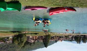 Animation été lac de Bozel