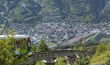 Bourg Saint Maurice en été