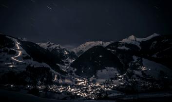 village Arêches de nuit
