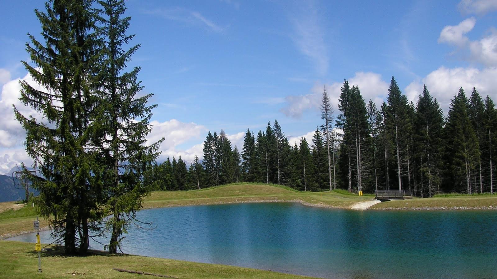 Plan d'eau du Mont-Lachat
