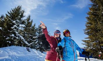 Ski-nature-les-saisies